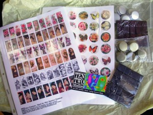 Bottle Cap Jewelry Supplies Giveaway from Ten Two Studios
