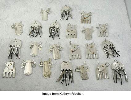 Craft Ideas Jewellery on Flatware Critters    Jewelry Making   Craftgossip Com