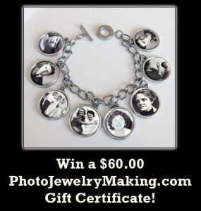 win a $60 gift certificate from PhotoJewelryMaking.com