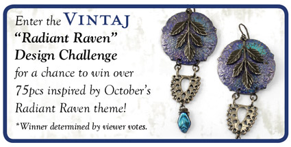Enter the Vintage Radiant Raven Design Challenge today!